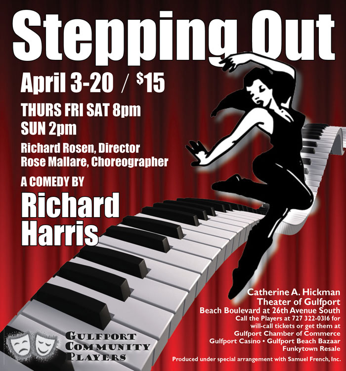 Steppin Out opens April 3rd