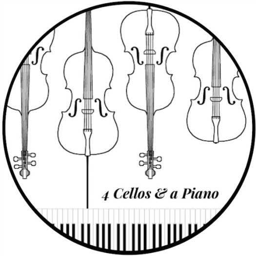 4 Cellos & a Piano - logo